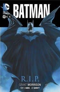 Portada de 'Batman RIP'