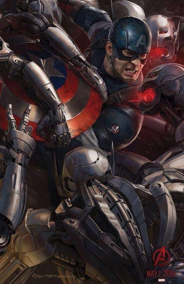 Capitán América en Los Vengadores: La era de Ultron