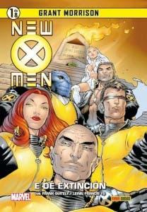 Portada de 'New X-Men' de Grant Morrison