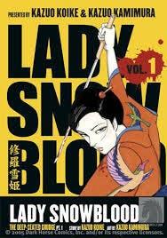 Portada del cómic 'Lady Snowblood'