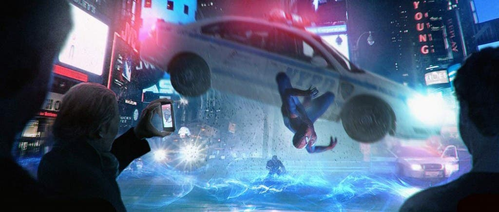 concept art The amazing spider-man 2