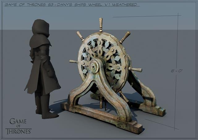 Concept Art de Juego de Tronos