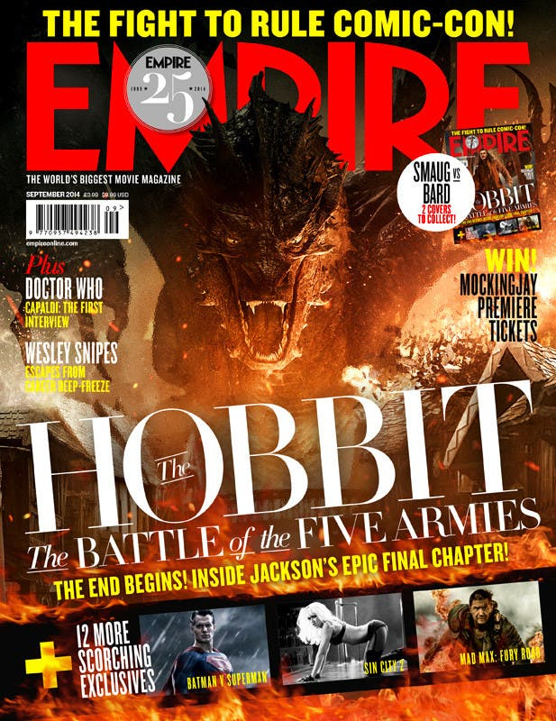 empire El Hobbit la batalla de los cinco ejércitos