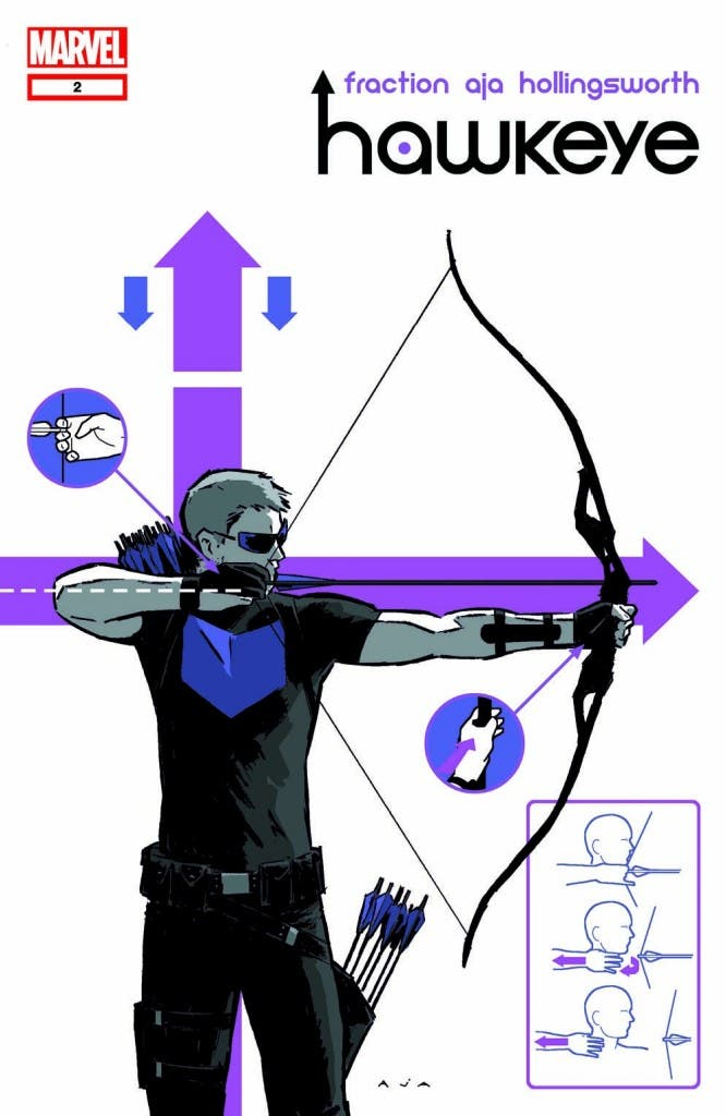 hawkeye Fraction David Aja