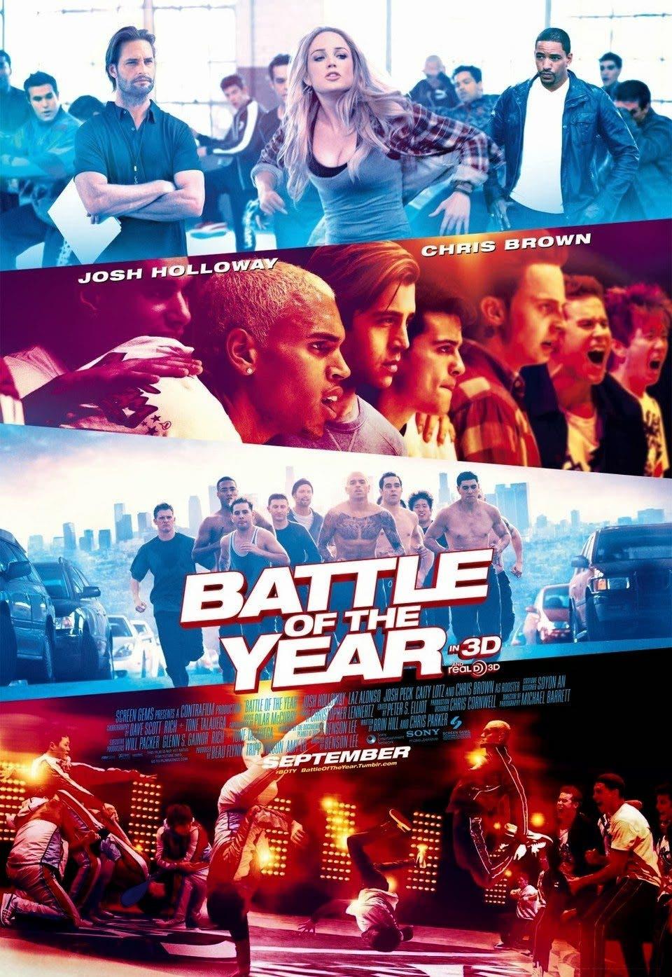 Póster de 'La batalla del año'