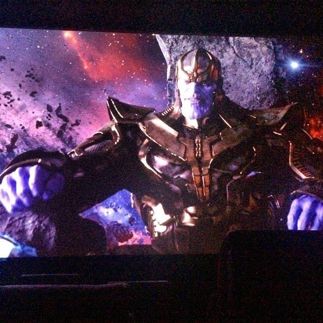 Primera imagen de Josh Brolin como Thanos en Guardianes de la Galaxia