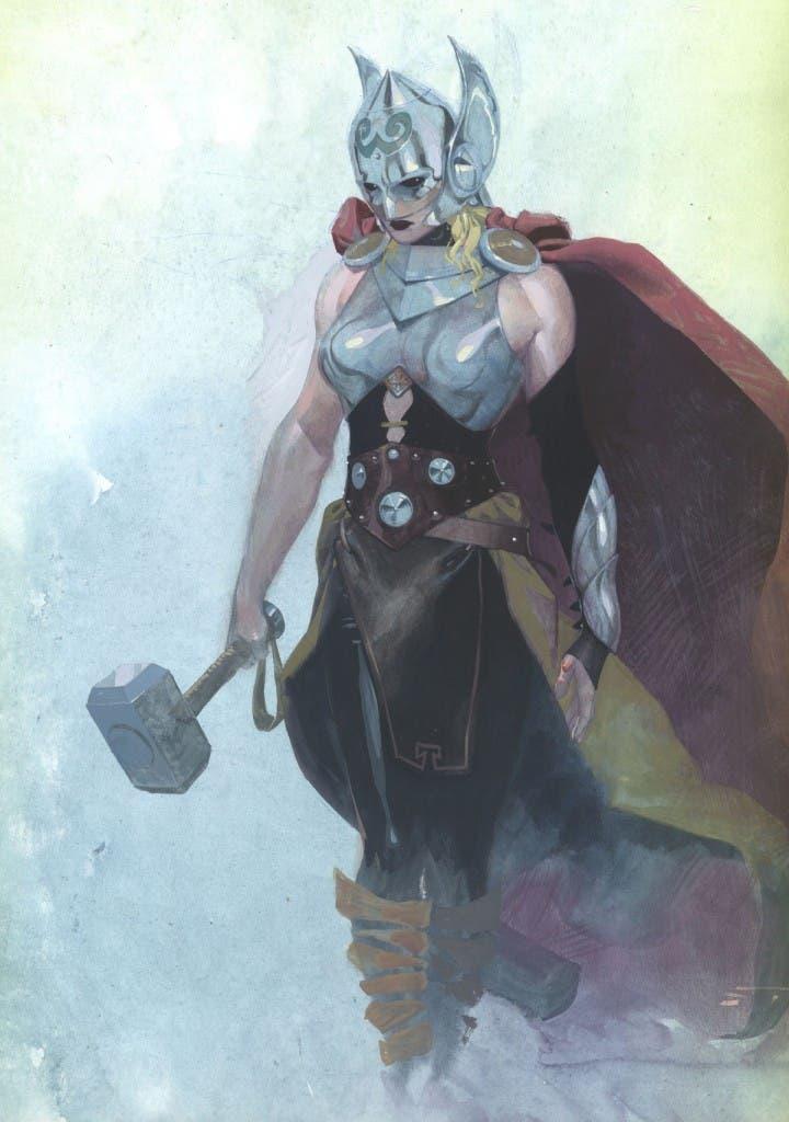thor woman mjolnir