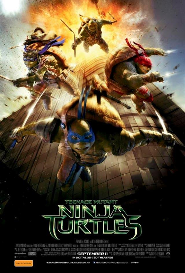 Póster polémico de Ninja Turtles