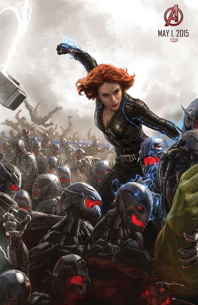 La viuda negra en Los Vengadores: La era de Ultron