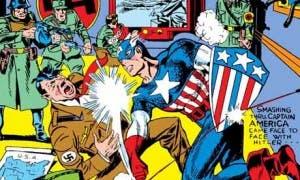El Capitán América luchó contra Hitler