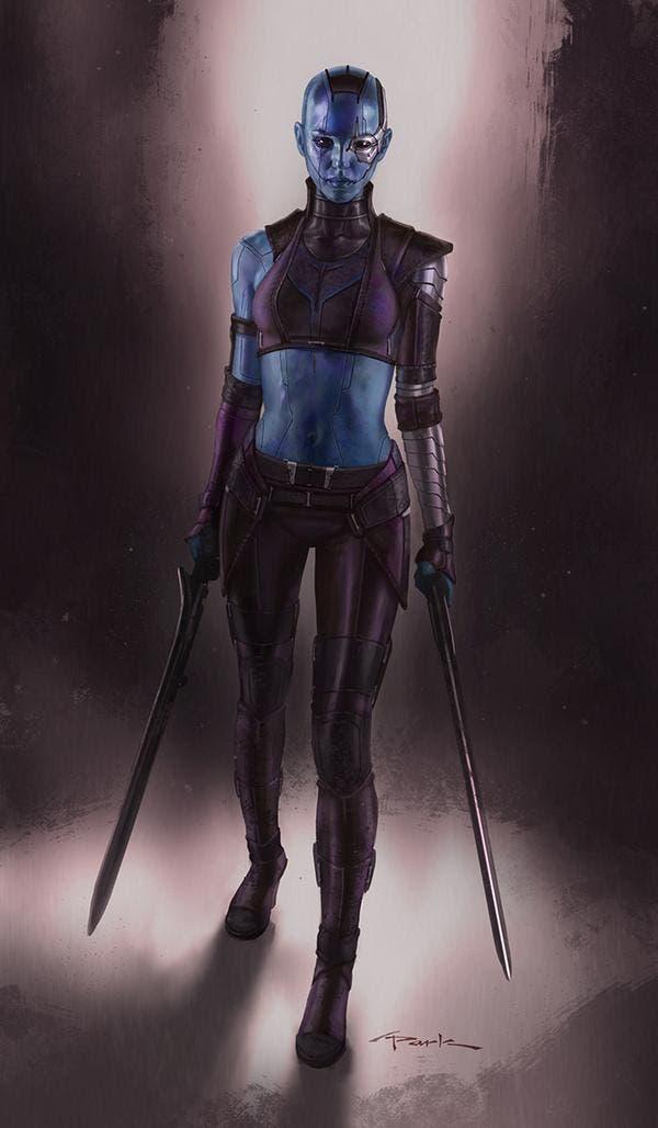 Concept art de Nebula realizado por Andy Park