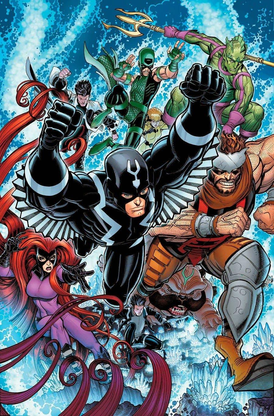 Inhumanos Marvel