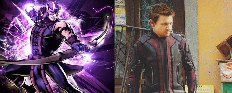 Nuevo look de Ojo de Halcón en Vengadores: La era de Ultron
