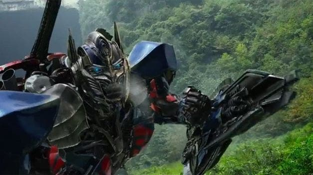 Transformers: La era de la extinción'. Optimus Transformers: La era de la extinción - Box Office USA