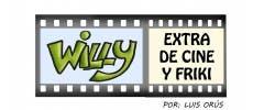 Tira cómica 73 de 'Willy, extra de cine y friki': Mañus y el solazo