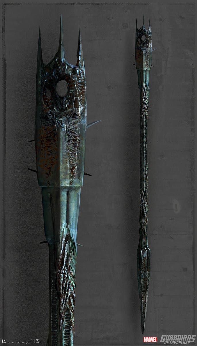 Concept art Guardianes de la Galaxia