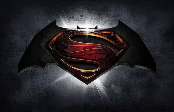 Logotipo de Batman v Superman