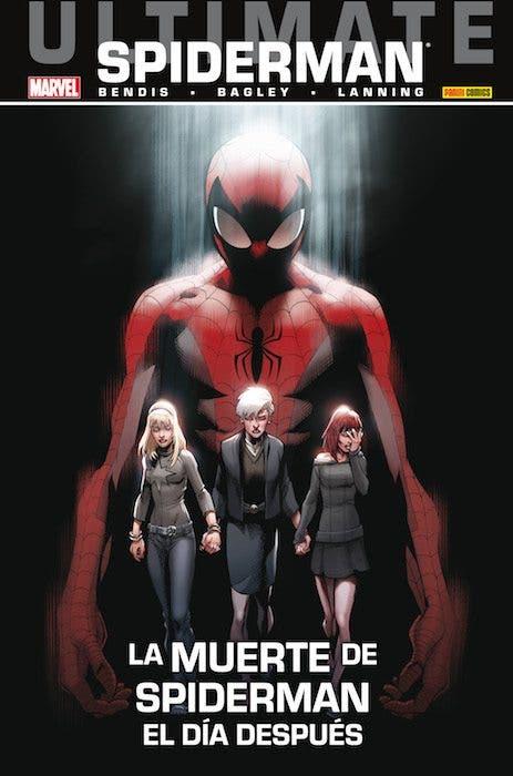 Portada de 'La muerte de Spiderman. El día después'