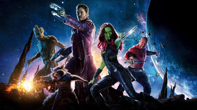 Banner de Guardianes de la Galaxia (guardians of the galaxy)