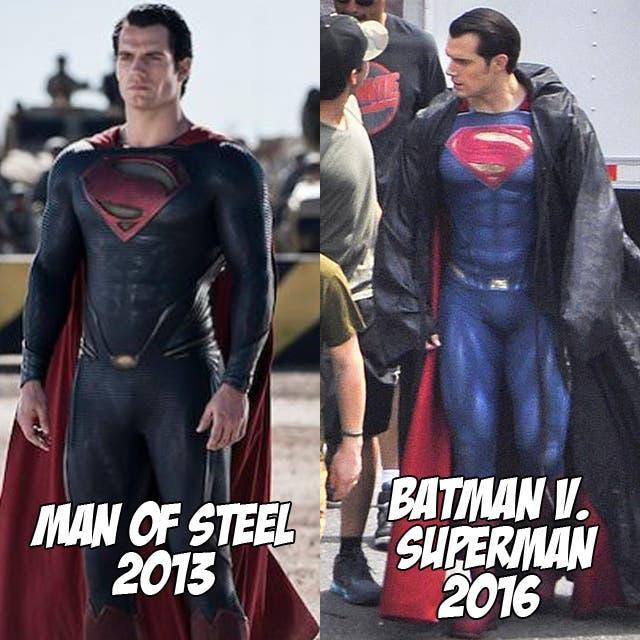Henry Cavill en Batman v Superman: Dawn of Justice