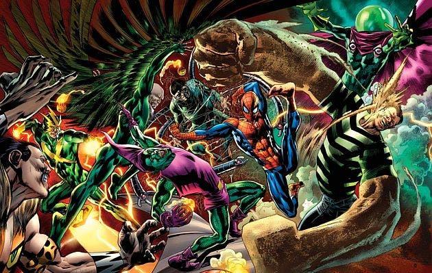 los seis siniestros - The Amazing Spider-Man 3