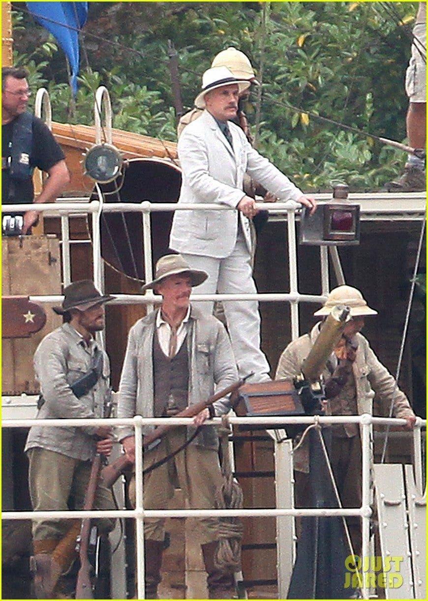 Christoph Waltz es el capitán Leon Rom