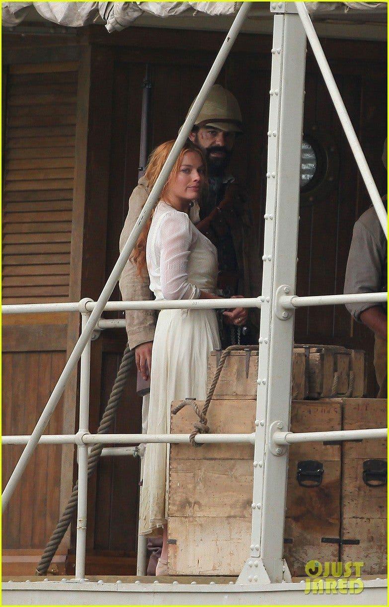 Margot Robbie es Jane en Tarzan