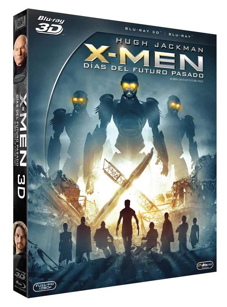 Blu-ray 3D X-Men Días del futuro pasado