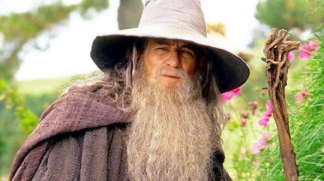Gandalf (Ian McKellen), en 'El señor de los anillos. La comunidad del anillo'