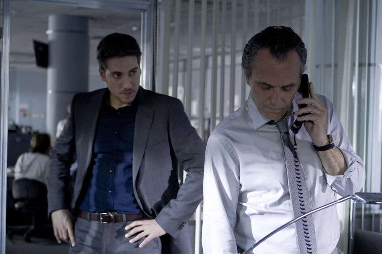 José Coronado y Alberto Ammann en Betibú