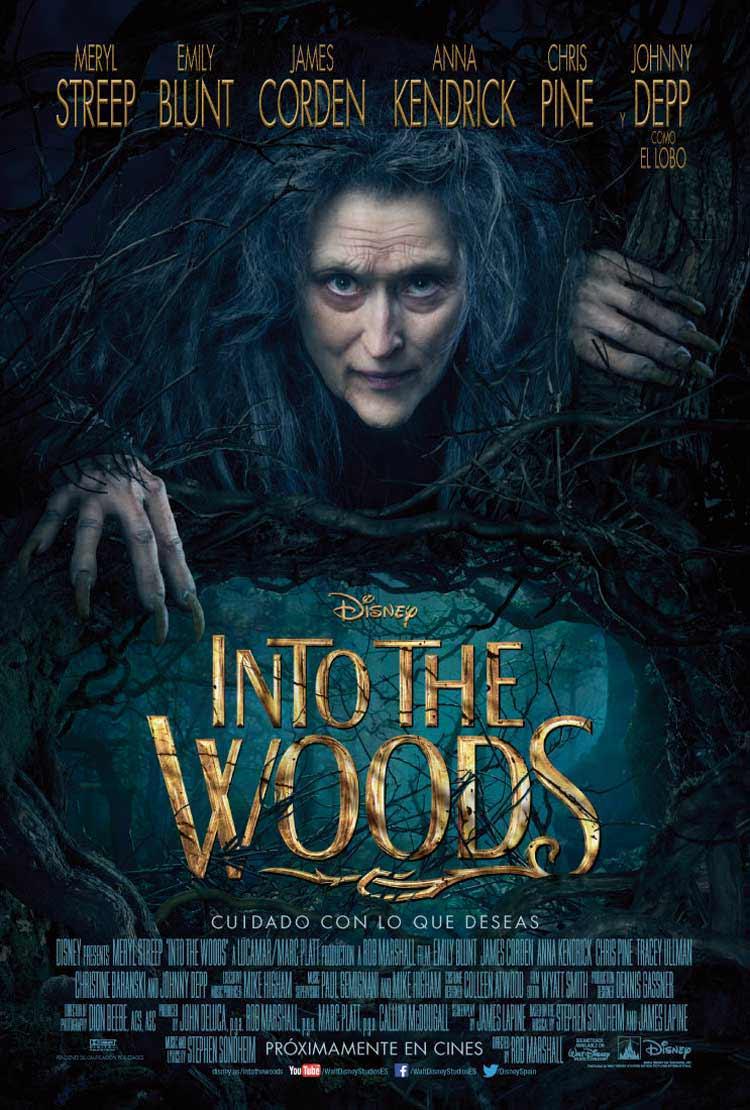 Nuevo póster de la película Into the Woods