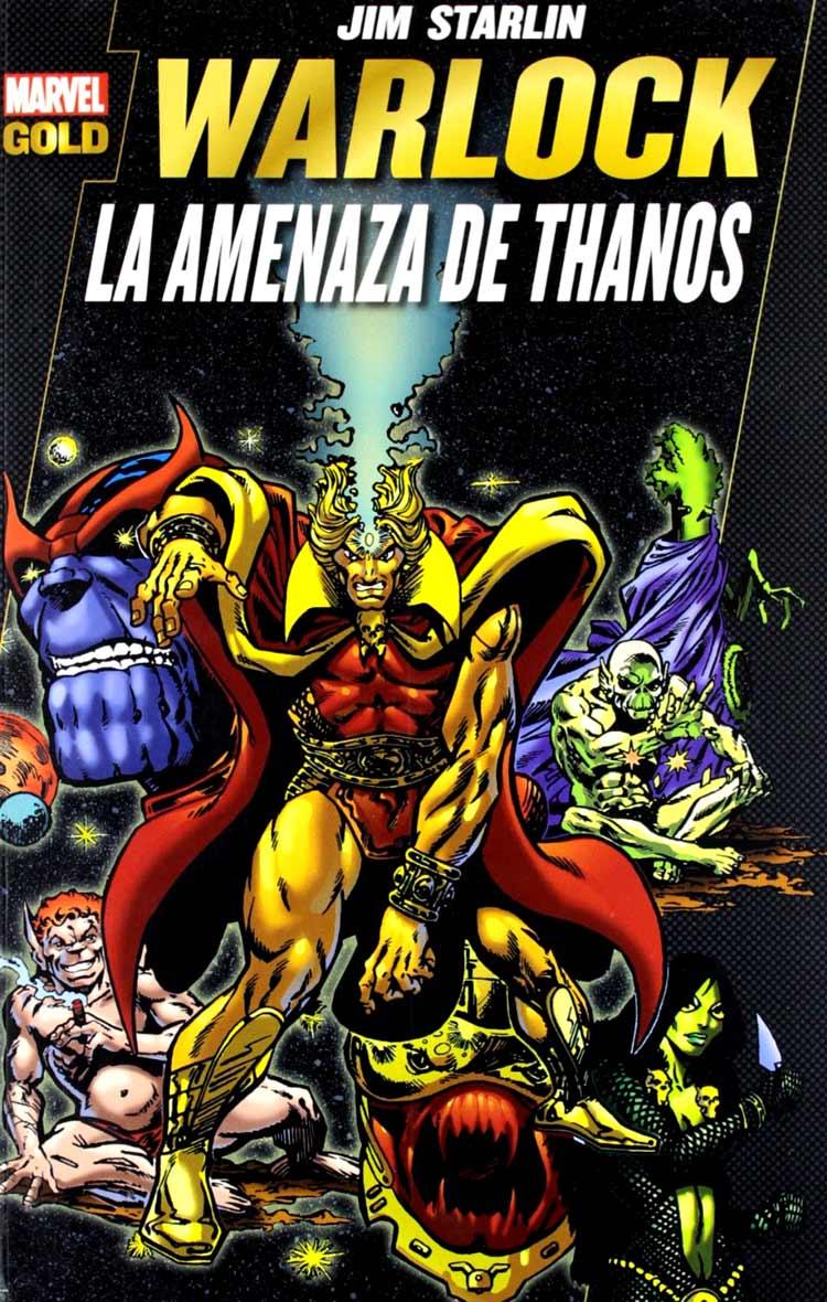Warlock: La amenaza de Thanos de Jim Starlim