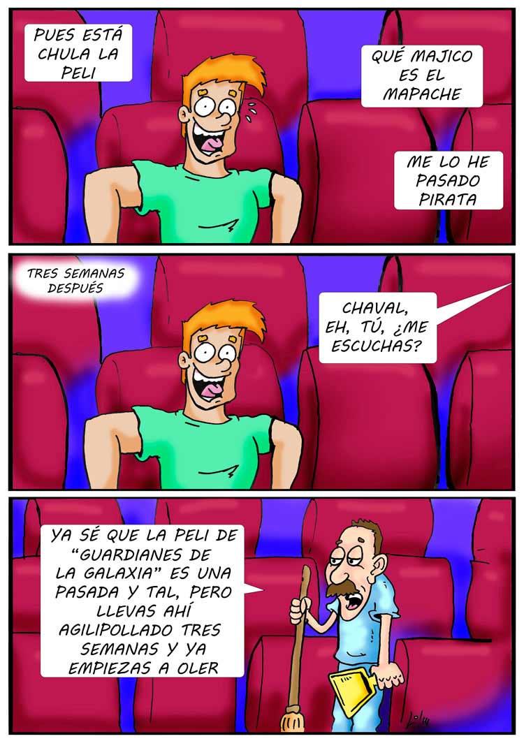 Willy, extra de cine y friki