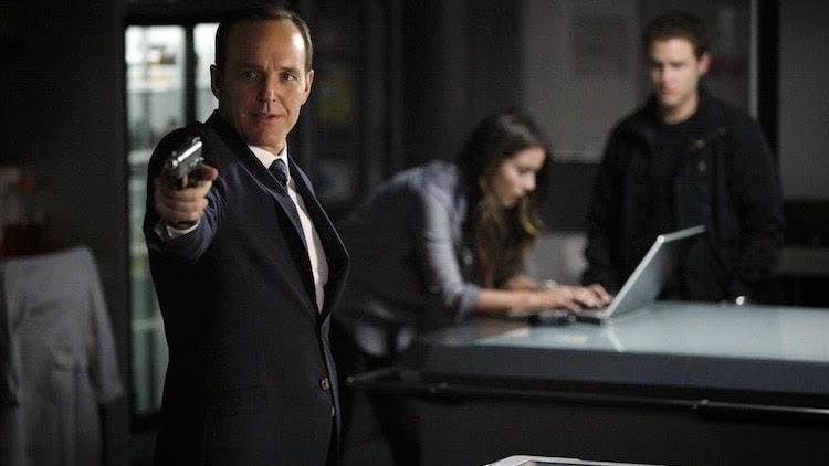 Coulson en agentes shield