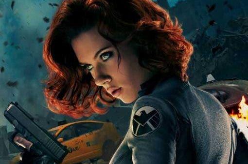 Las 50 superheroínas más sexys del cine Viuda Negra Marvel los Vengadores