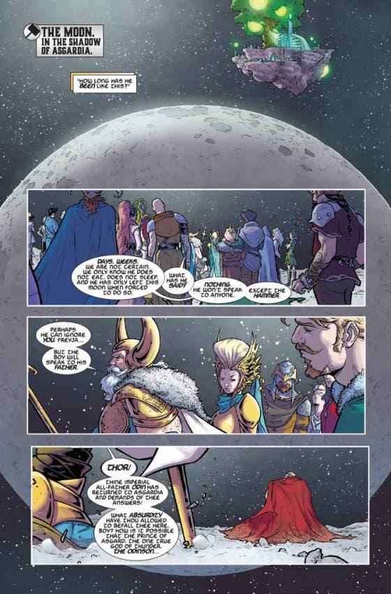 comic Thor 1
