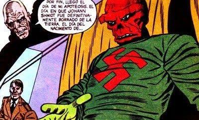 Imagen del cómic 'La muerte de Cráneo Rojo'