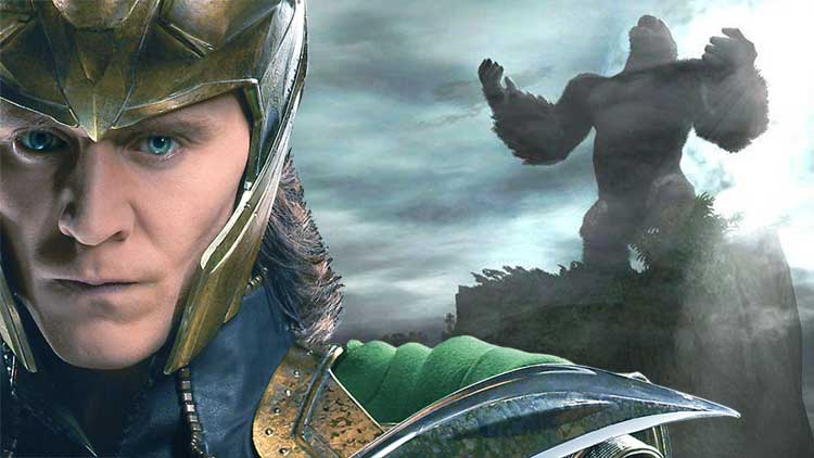 Loki quiere capturar a King Kong en Skull Island