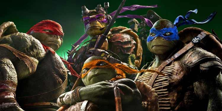 ninja turtles Box office USA