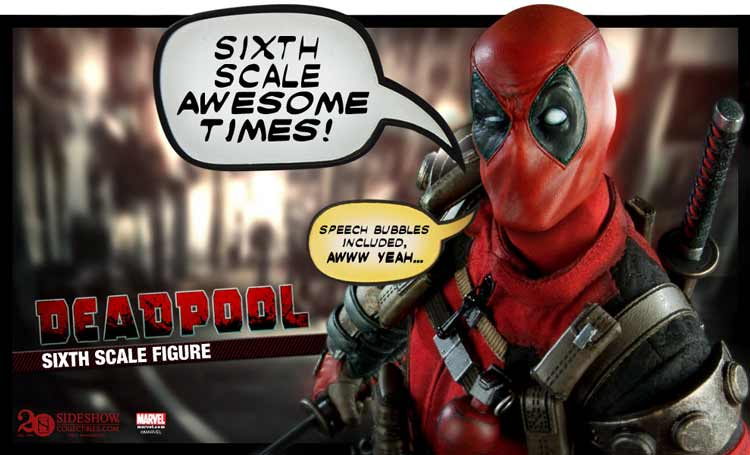 Deadpool figura de Sideshow