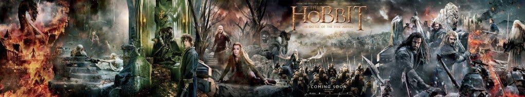 Impresionante banner de El Hobbit: La batalla de los cinco ejércitos