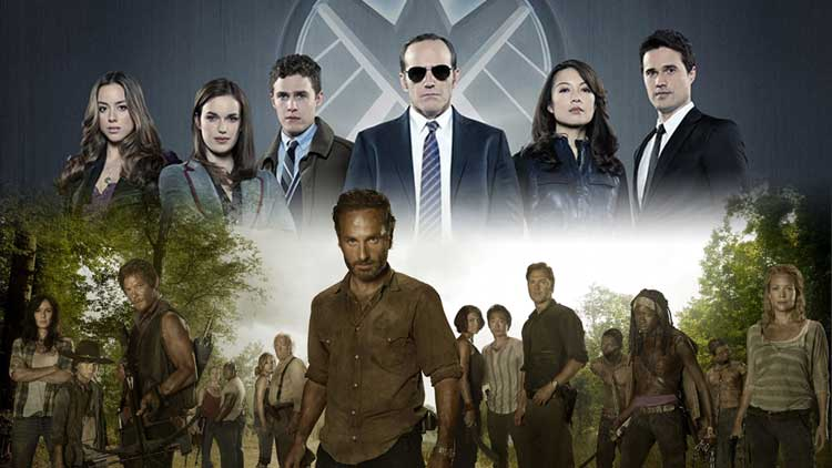 Fecha de estreno en España de The Walking Dead 5 y Agentes de S.H.I.E.L.D. 2