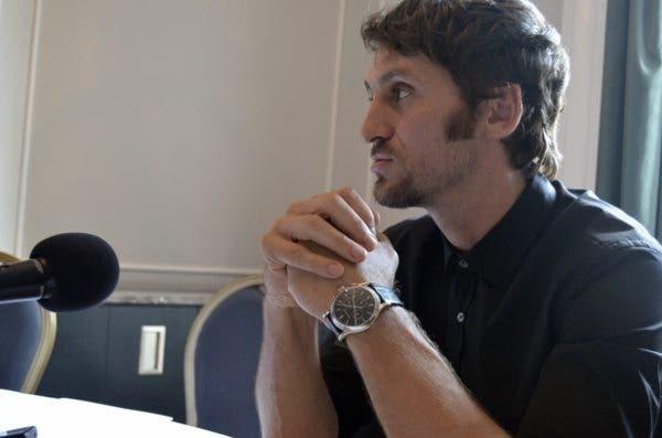 Raúl Arévalo, en la entrevista