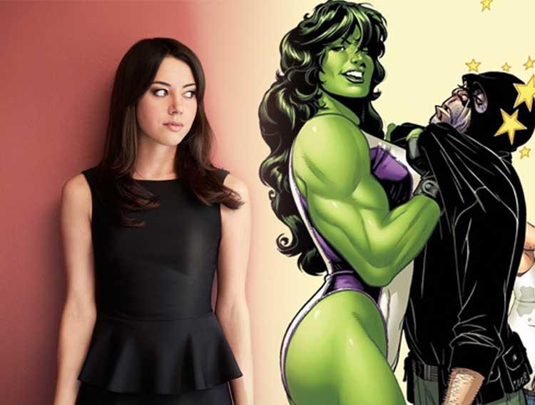 Aubrey Plaza le gustaría ser Hulka