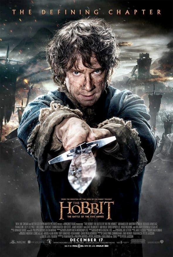 Martin Freeman es Bilbo en El Hobbit