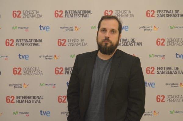 El director Carlos Vermut, en el Festival de San Sebastián