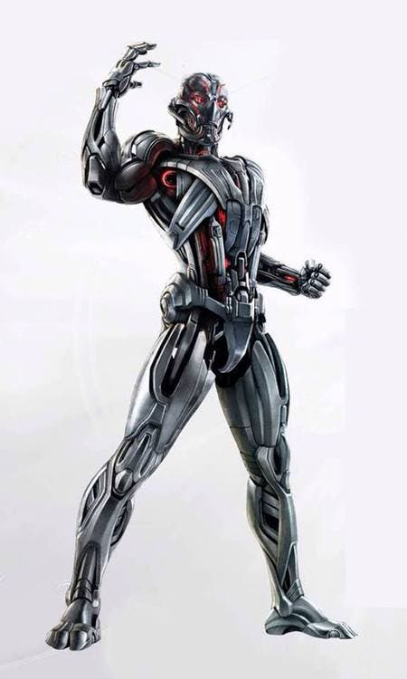 Concept art Ultron