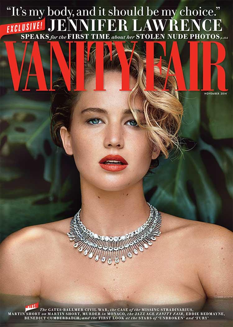 Primeras declaraciones de Jennifer Lawrence tras las fotos robadas