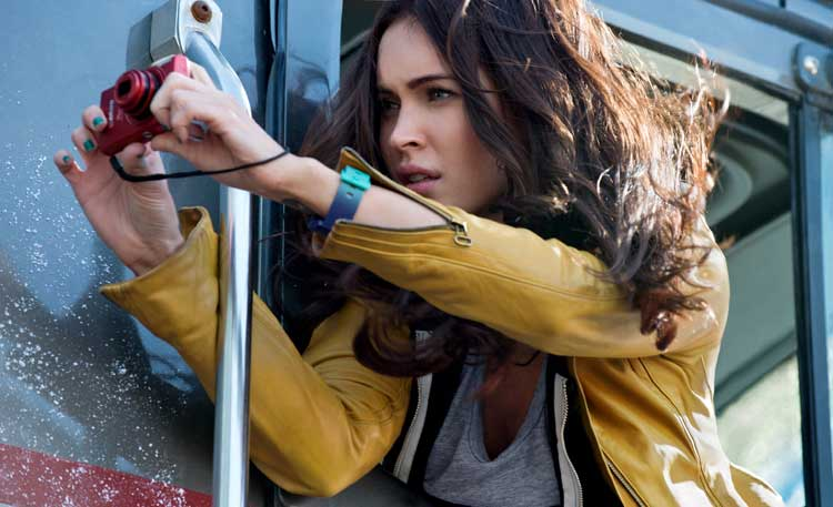 Megan Fox es April O´Neal en Ninja Turtles