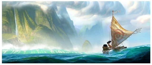 Disney presenta 'Moana'